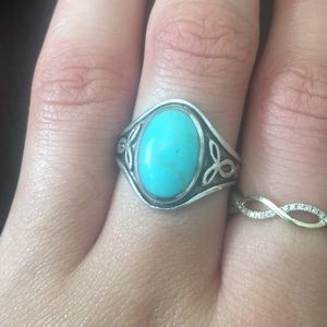 Jewelry - SOLD Silver and Turquoise Ring